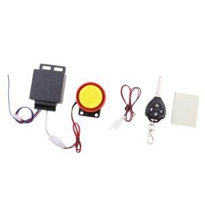 Moto Alarme Sécurité Antivol Système Connexion Câble 12v Télécommande - Publicité