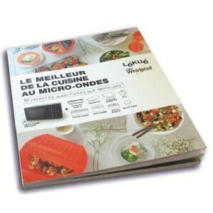 WPRO LIB00030 Livre de recettes Whirlpool + Lékué Le meilleur de la cuisine au micro-ondes - Publicité