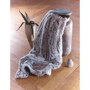 Couverture ourson Plaid Loup de Sibérie Fausse Fourrure CHAUD / DOUX 130x150cm - PLAID DOUBLE ( canapé , fauteuil , lit..) , DECO/DESIGN - Publicité