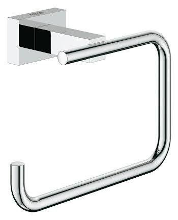 CAESAROO Grohe Essentials Cube Porte Papier Toilette 40507001   chrome