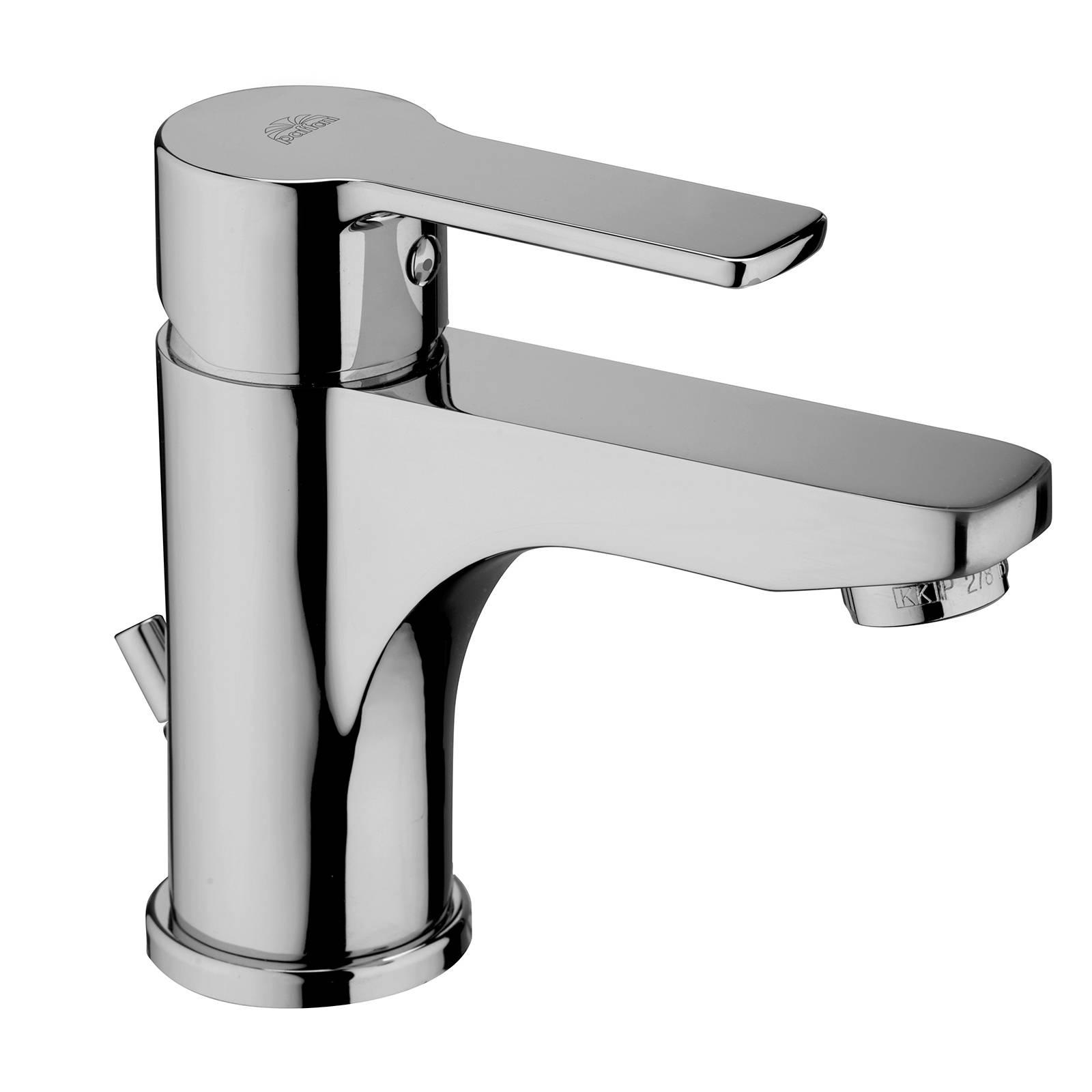 CAESAROO Paffoni Mitigeur monocommande monotrou pour lavabo avec vidage automatique RED075CR   chrome