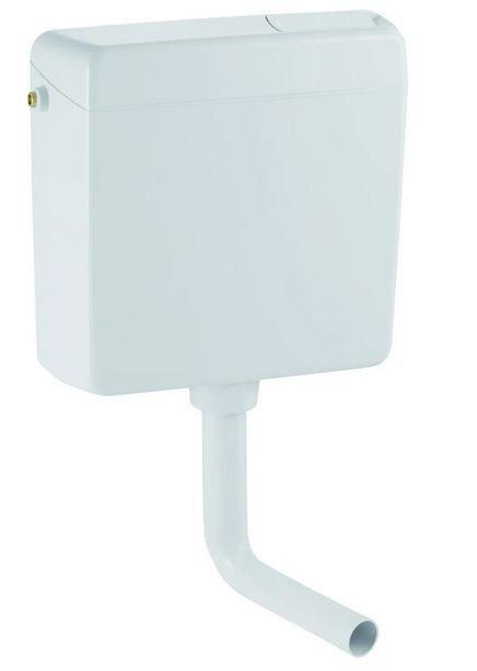 CAESAROO Chasse d'eau externe avec deux débits blancs Geberit 123.001.11.1   Blanc
