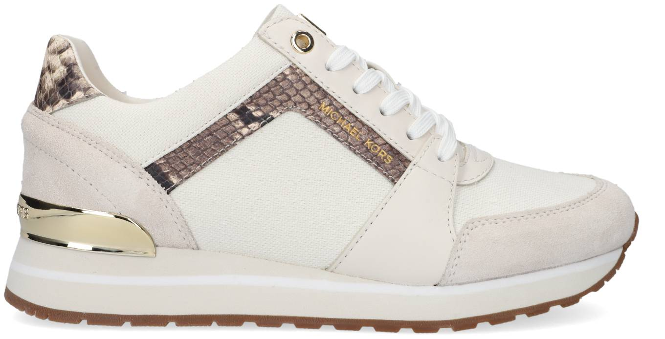 Michael Kors Baskets Basses Billie Trainer En Blanc Femme - 36;36.5;37;38;38.5;39;40;40.5;41