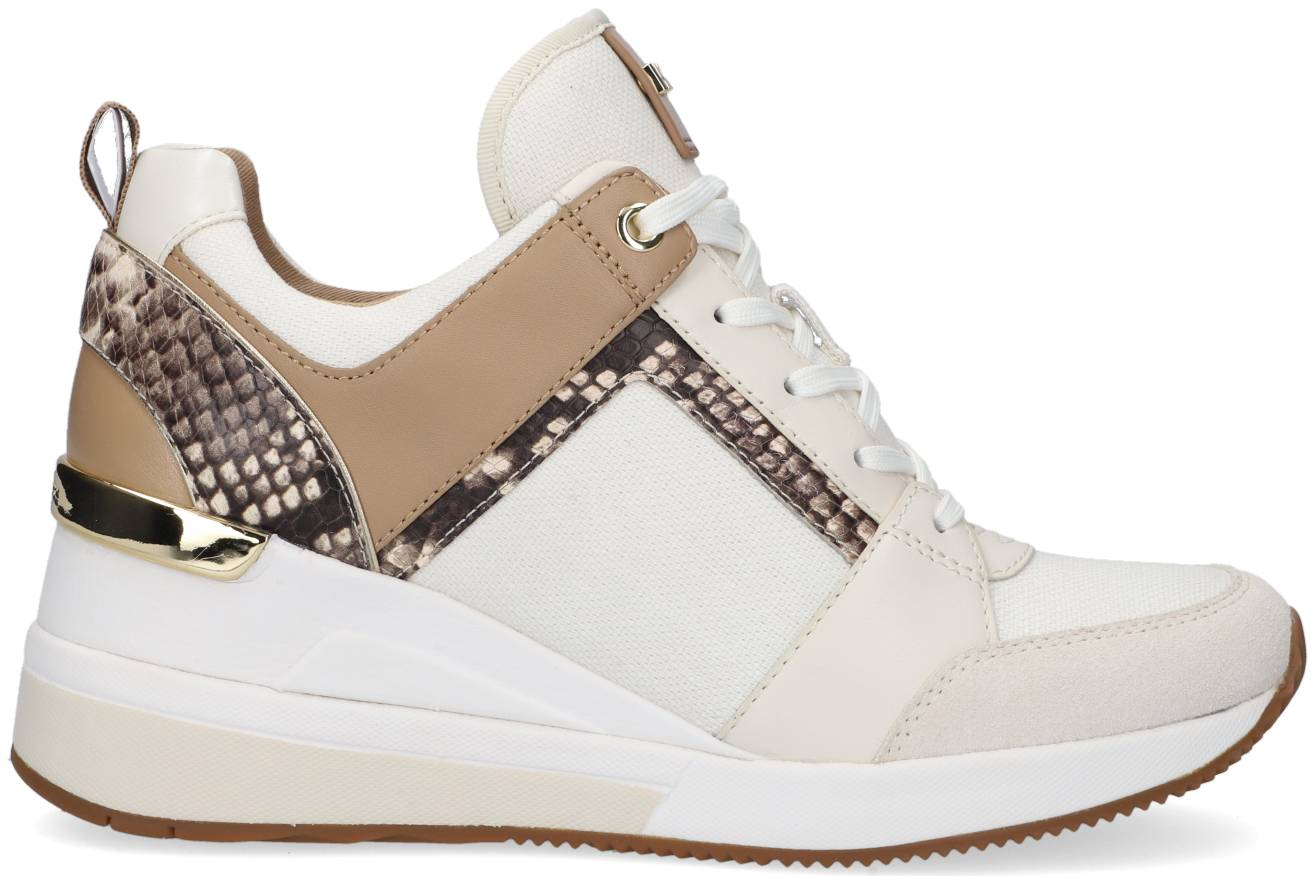 Michael Kors Baskets Basses Georgie Trainer En Blanc Femme - 35;35.5;36;36.5;37;38;38.5;39;40;40.5;41