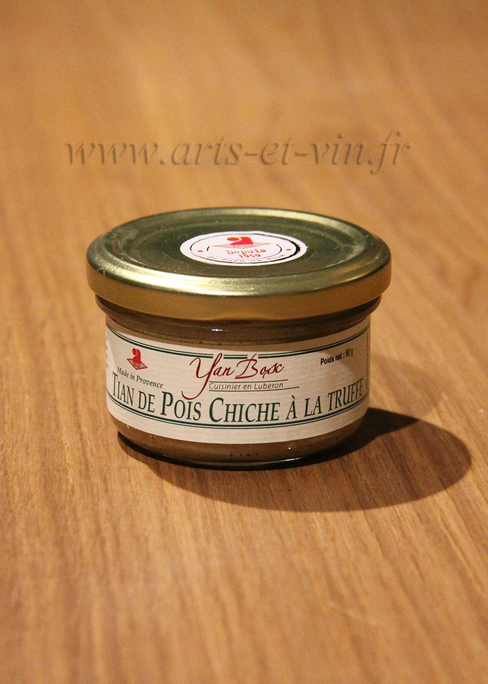 Sels et Tapenades - Yan Bosc Tian de Pois Chiche à la Truffe - Yan Bosc