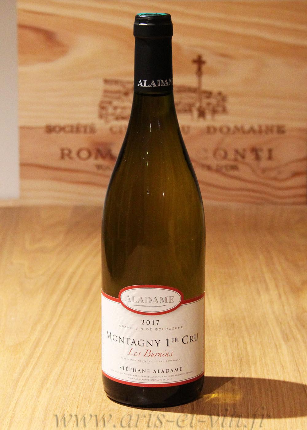 "Bourgogne Montagny 1er Cru ""Les Burnins"" 2017 - Domaine Aladame"