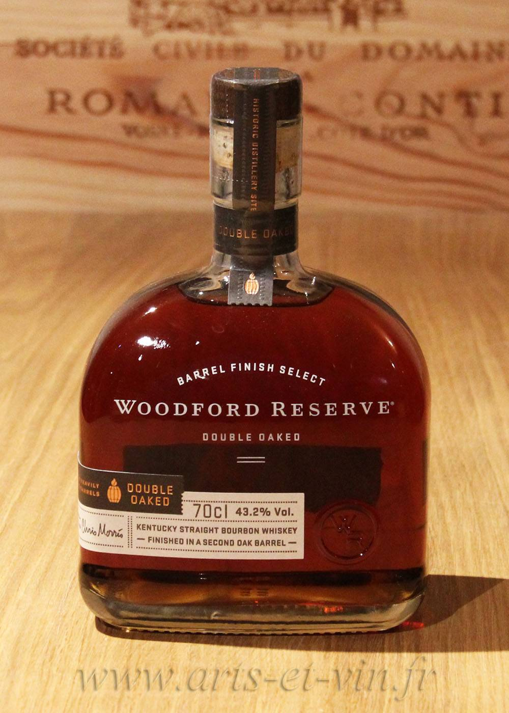 Spiritueux Whisky Blend Woodford Reserve Double Oaked - USA 43.2°