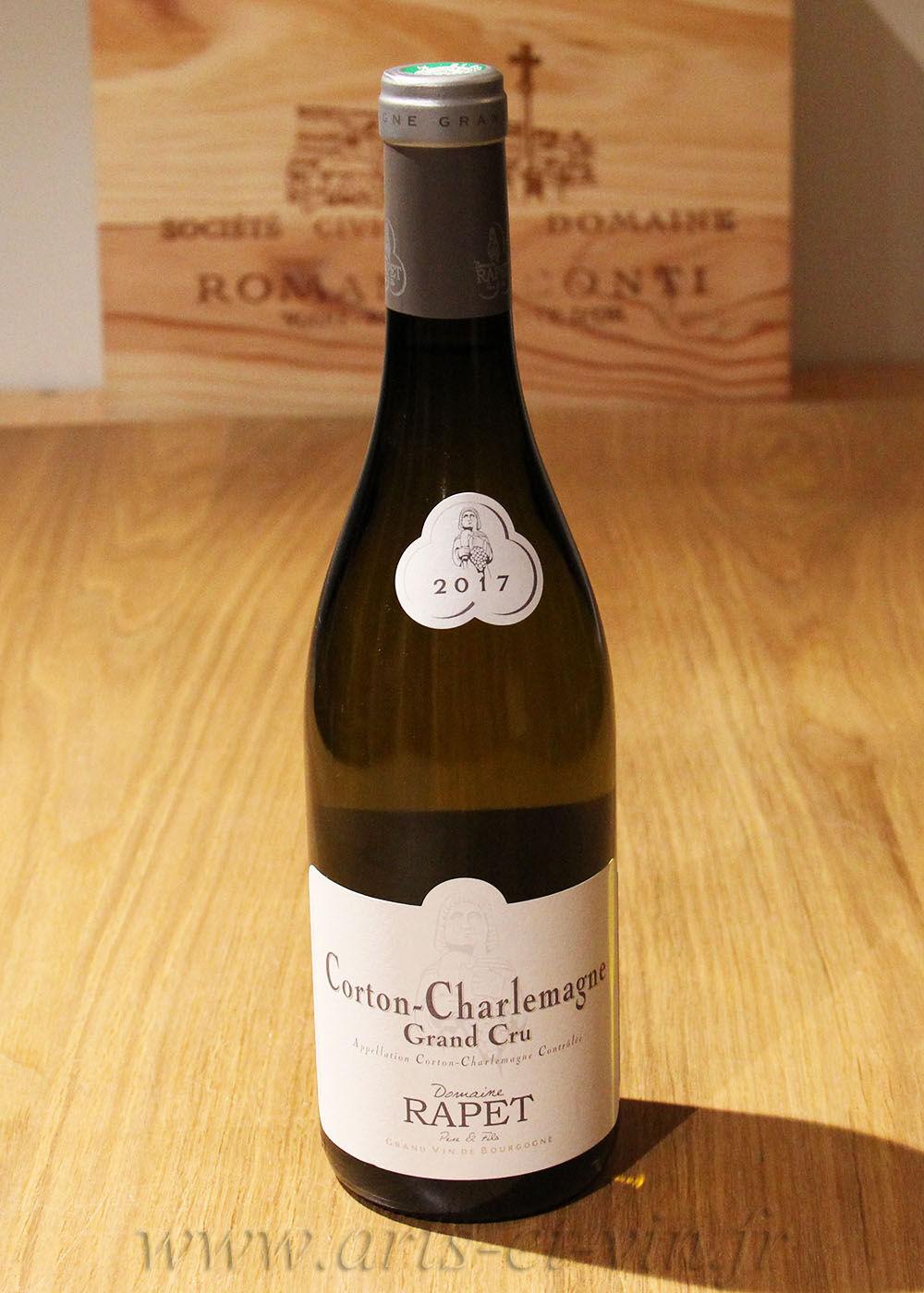 Bourgogne Corton-Charlemagne Grand Cru 2017 - Domaine Rapet