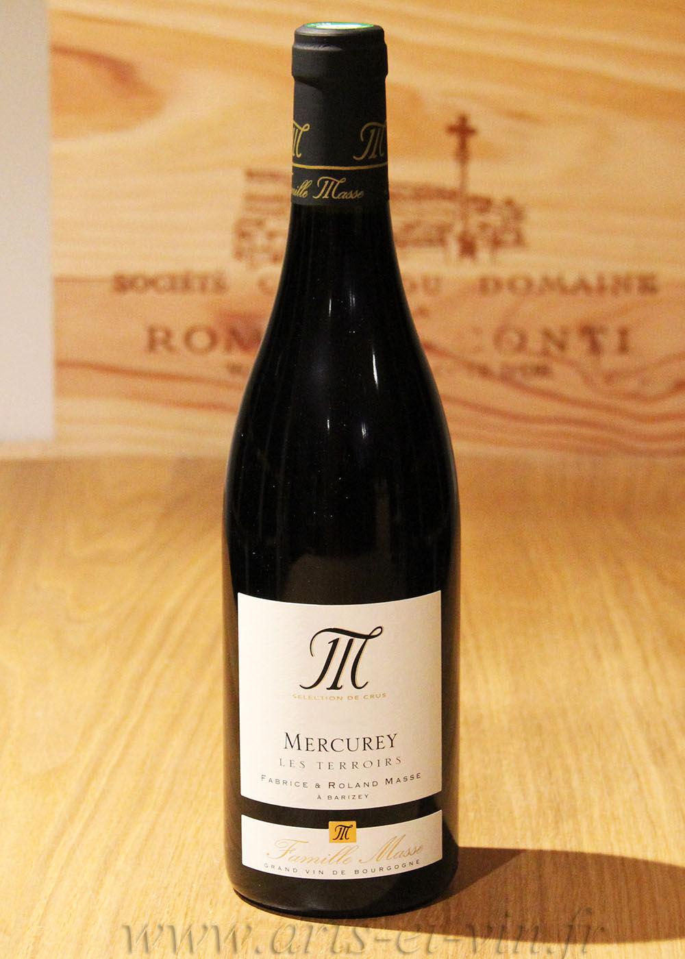 """Bourgogne Mercurey """"Les Terroirs"""" 2018 - Domaine Masse Père & Fils"""