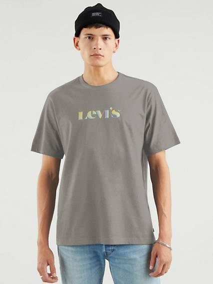 Levi's Relaxed Fit Tee - Homme - Noir / Blackened Pearl