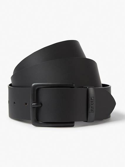 Levi's New Albert Metal Belt - Homme - Noir / Regular Black