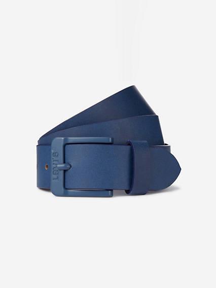 Levi's Free Metal Belt - Unisex - Bleu / Dark Blue