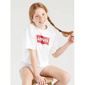 Levi's Teenager Light Bright Cropped Top - Femme - Blanc / White - Publicité