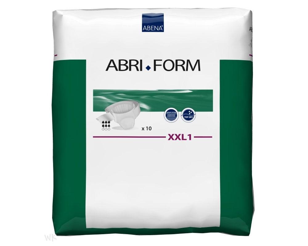 Abena Abri-Form XXL1 - Couches-culottes adulte - 10 pièces - Slips absorbants jetables