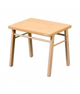 Combelle Table basse enfant vernis naturel