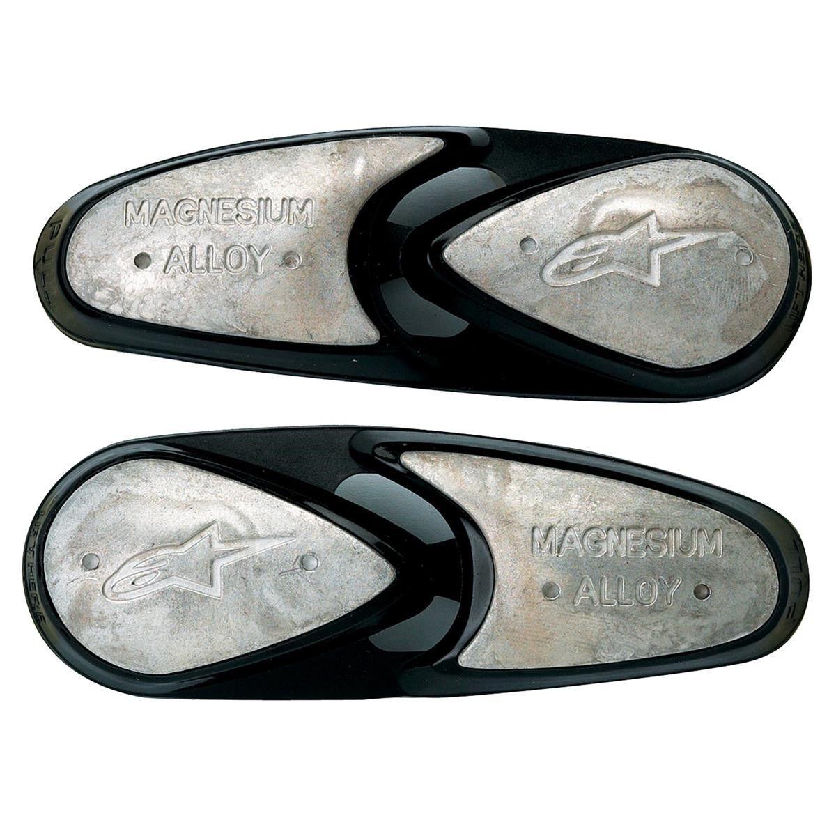 Alpinestars Kit Sliders de Rechange Magnesium Toe Slider - Taille unique - Argent