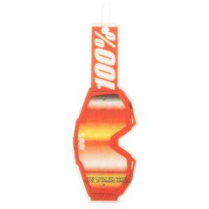 100% Désodorisant Voiture - Taille unique - Orange - Publicité