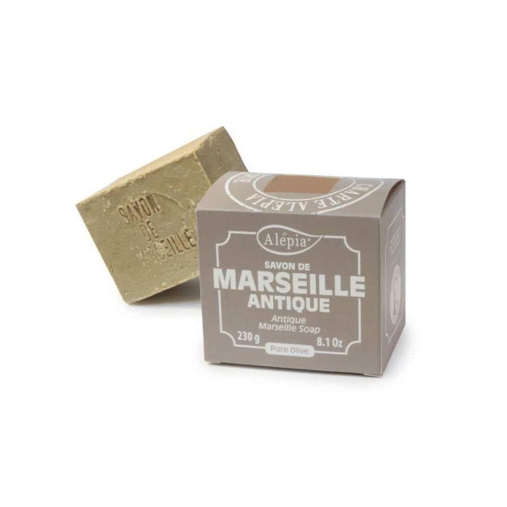 Alépia Savon de Marseille – Antique pure olive 230Gr – Ingrédients originaux - Alépia