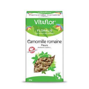 Vitaflor Camomille romaine -  Boite de 25gr - Plante en vrac (fleurs) - Vitaflor - Publicité