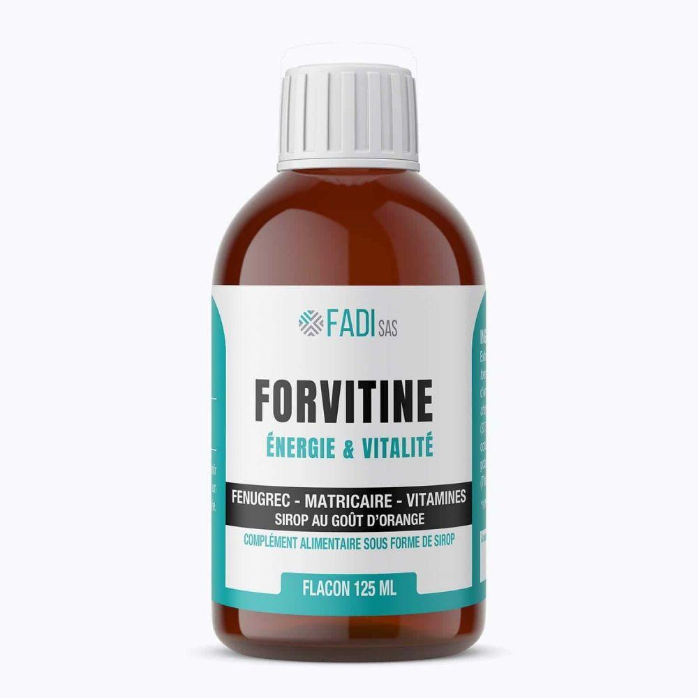 Fadi Forvitine – Sirop appétit-tonus à base de fenugrec, de matricaire - Fadi
