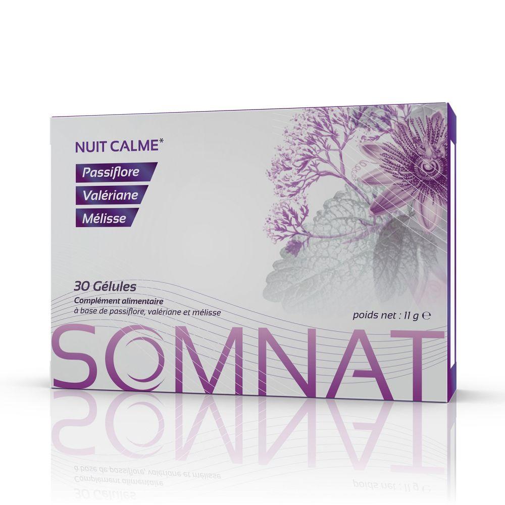 Fadi Somnat – 30 Gélules - Nuit calme et apaisante - Produit 100% Naturel, sans accoutumance - Fadi