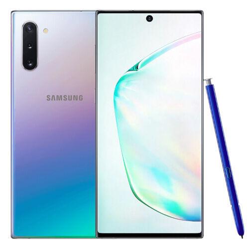 Samsung Galaxy Note 10 (dual sim) 256 Go argent stellaire