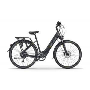 Ecobike Velo Electrique Femme 28 Pouces Ecobike X-cross Noir 468Wh - Publicité