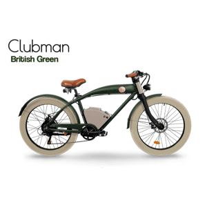 Rayvolt E Bike Cruiser Clubman vert upgraded batterie - Publicité