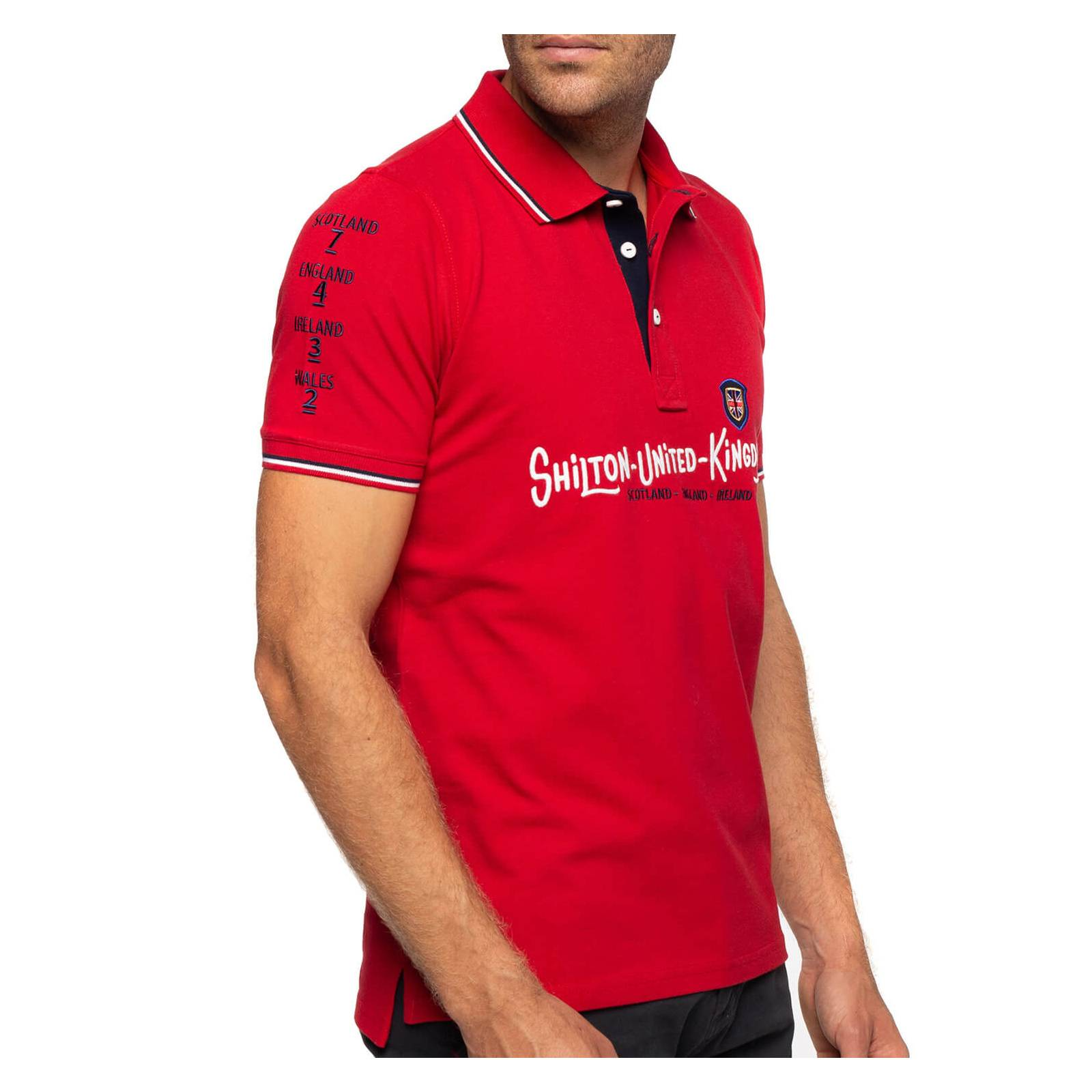 Shilton Polo rugby cup Britain - Rouge - L
