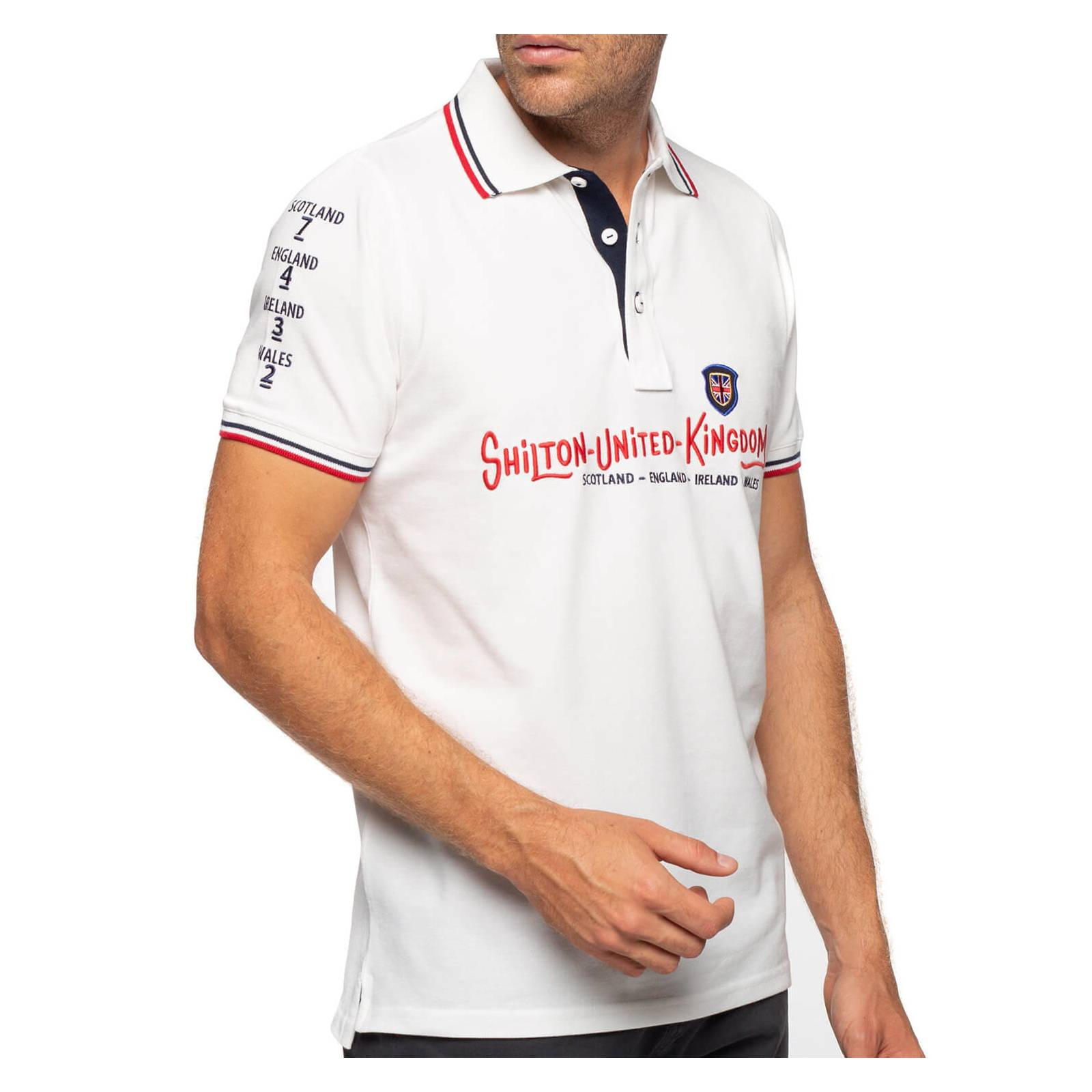 Shilton Polo rugby cup Britain - Blanc -