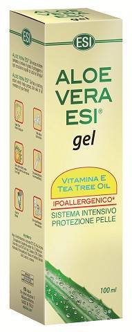 ESI SpA 100ml Aloe Vera Gel Vitamine E + Tea Tree