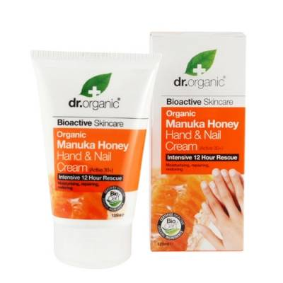 OPTIMA NATURALS Srl Dr Bio Miel de Manuka mains et ongles Creme mains 125ml