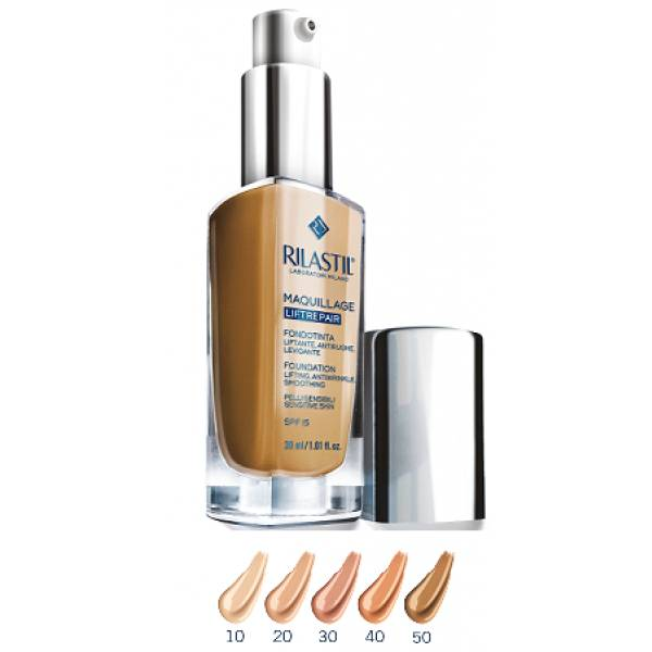 IST.GANASSINI SpA Rilastil cosmetique Camouflage Fondation Liftrepair Nuance 30 Honey 30ml