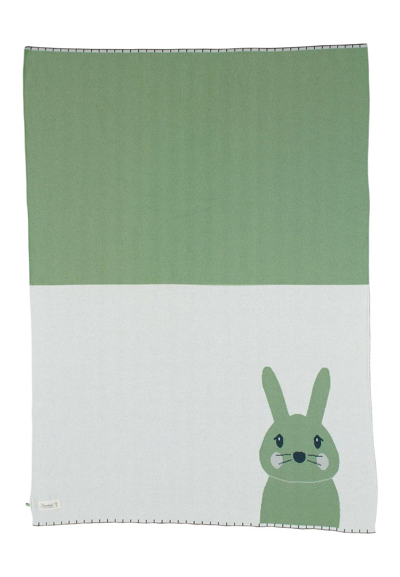 STERNTALER Couverture de bébé 'Kinni'  - Vert - Taille: One Size - kids