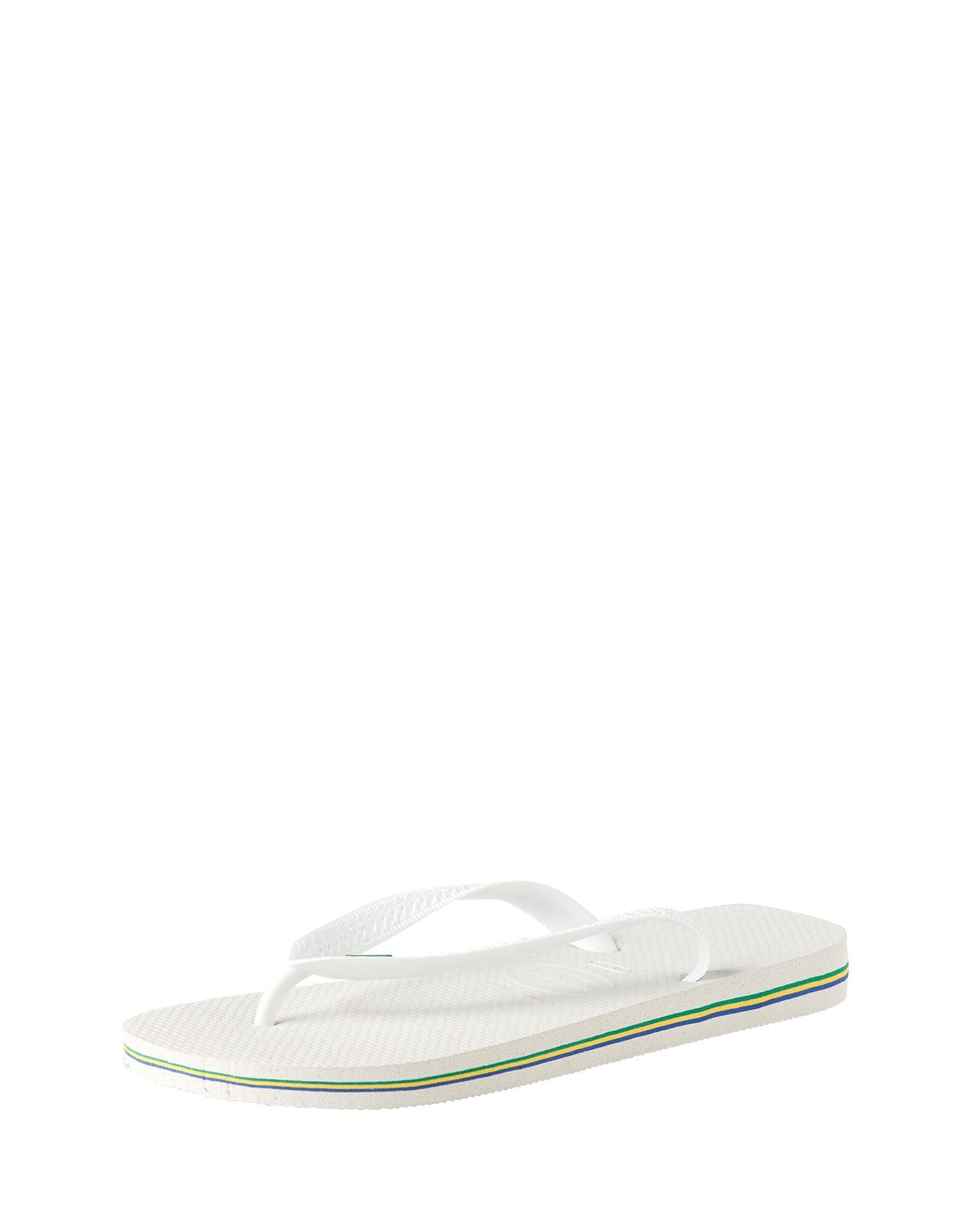 HAVAIANAS Tongs 'Brasil'  - Blanc - Taille: 35.5 - female