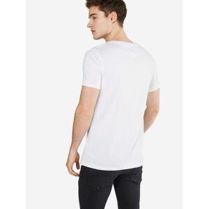 Tommy Jeans T-Shirt  - Blanc - Taille: M - male - Publicité