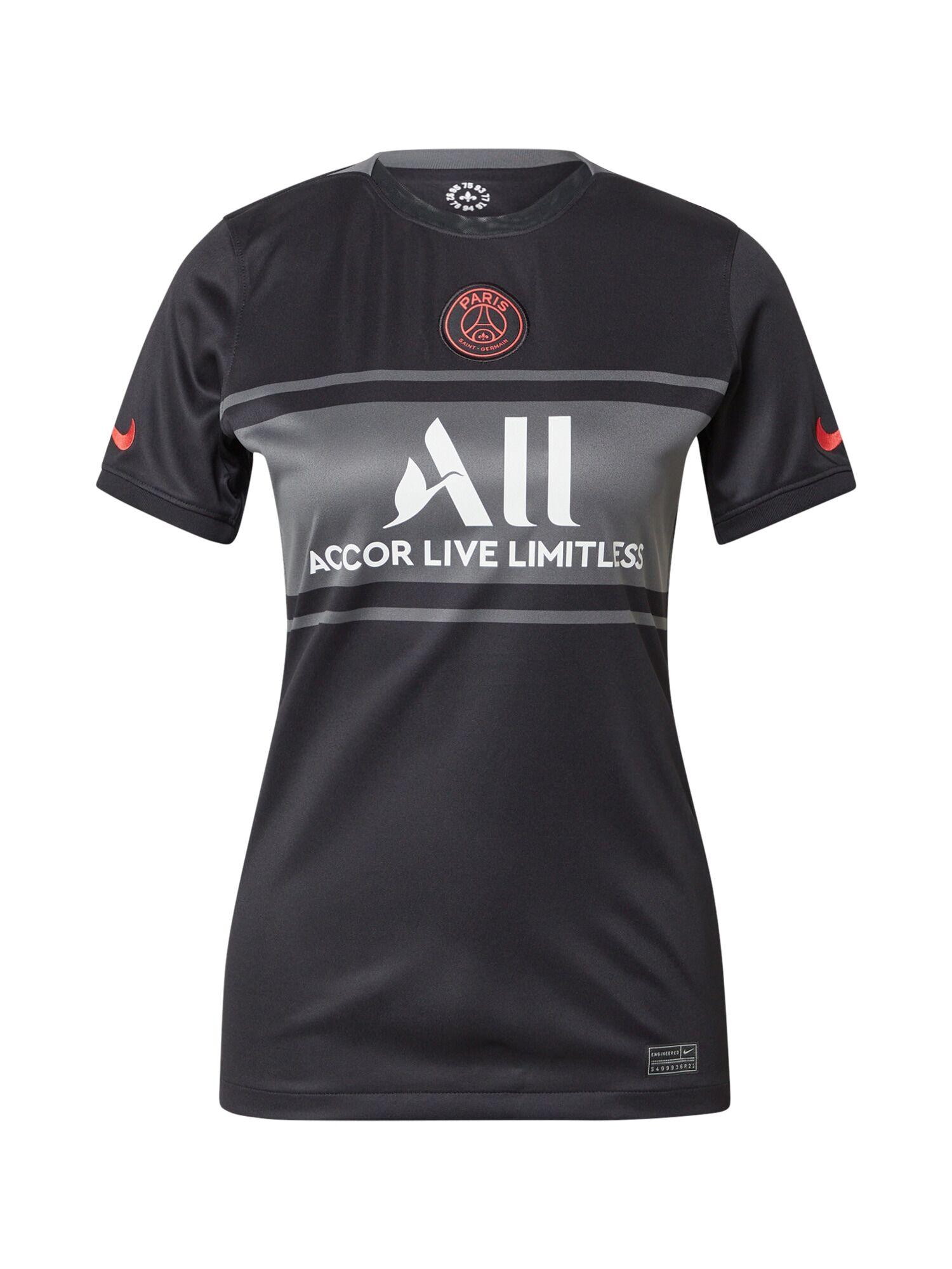 NIKE Maillot 'Paris Saint-Germain 2021/22'  - Noir - Taille: M - female