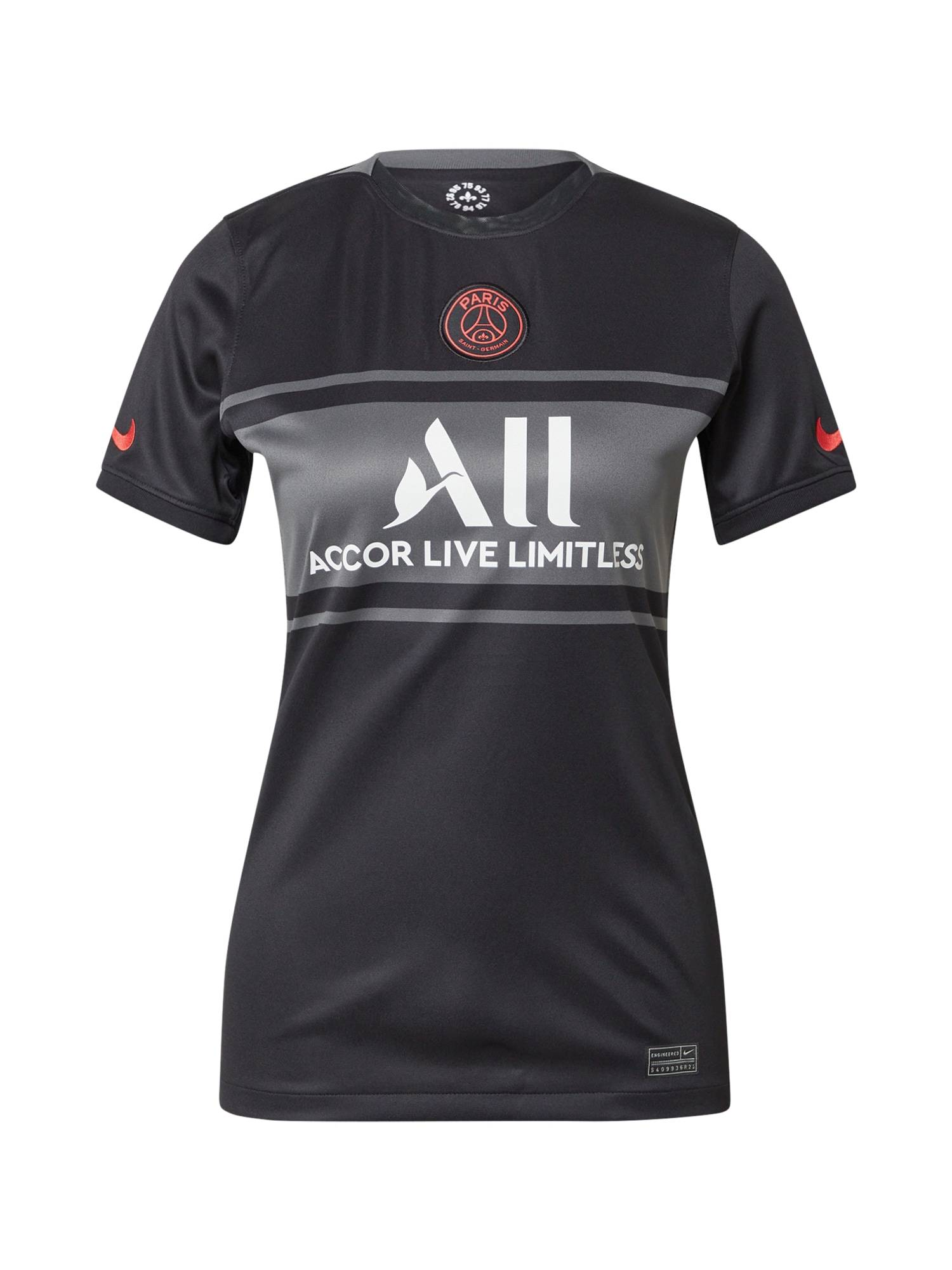 NIKE Maillot 'Paris Saint-Germain 2021/22'  - Noir - Taille: L - female