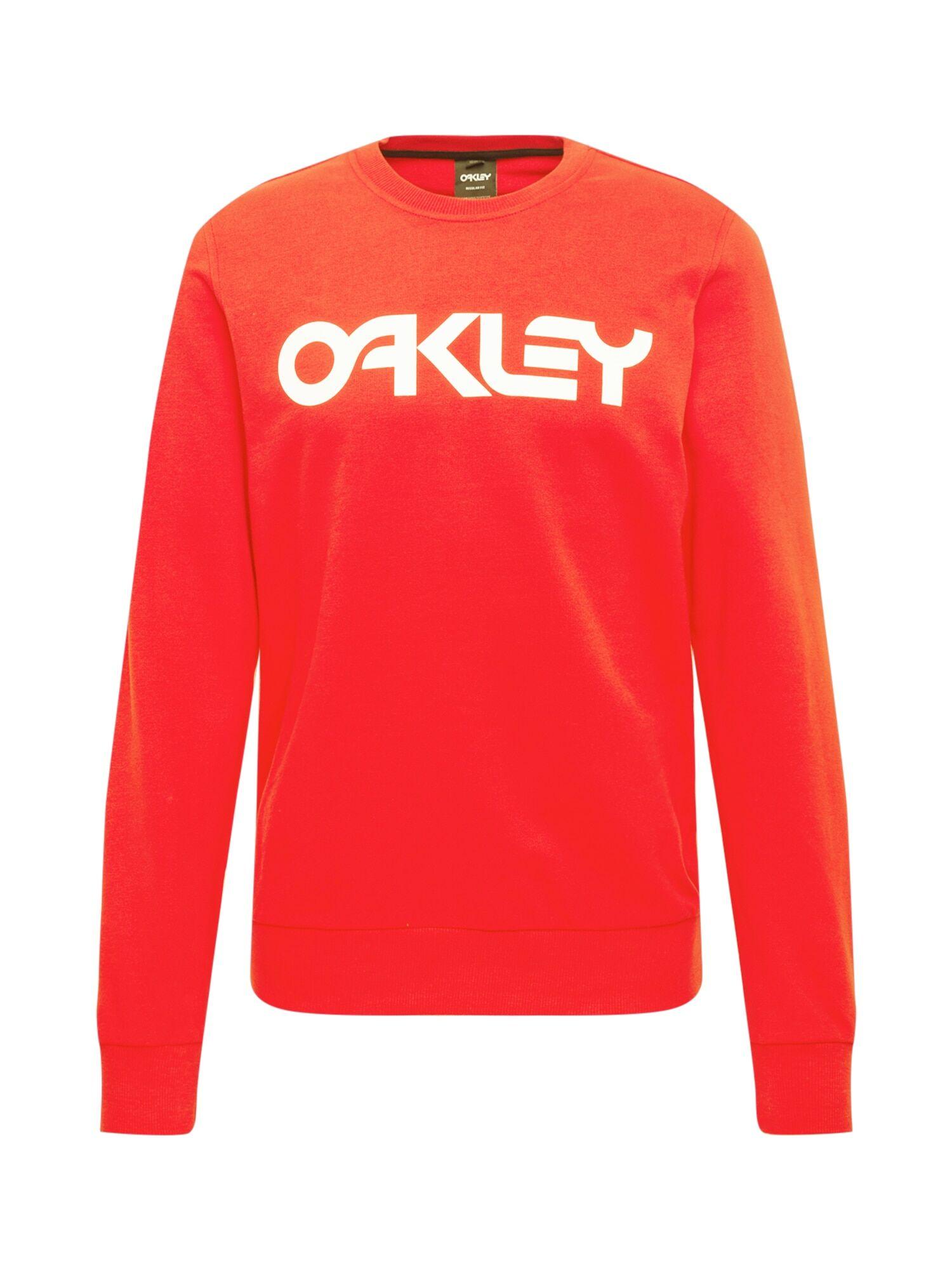 OAKLEY Sweat de sport 'B1B CREW'  - Rouge - Taille: L - male