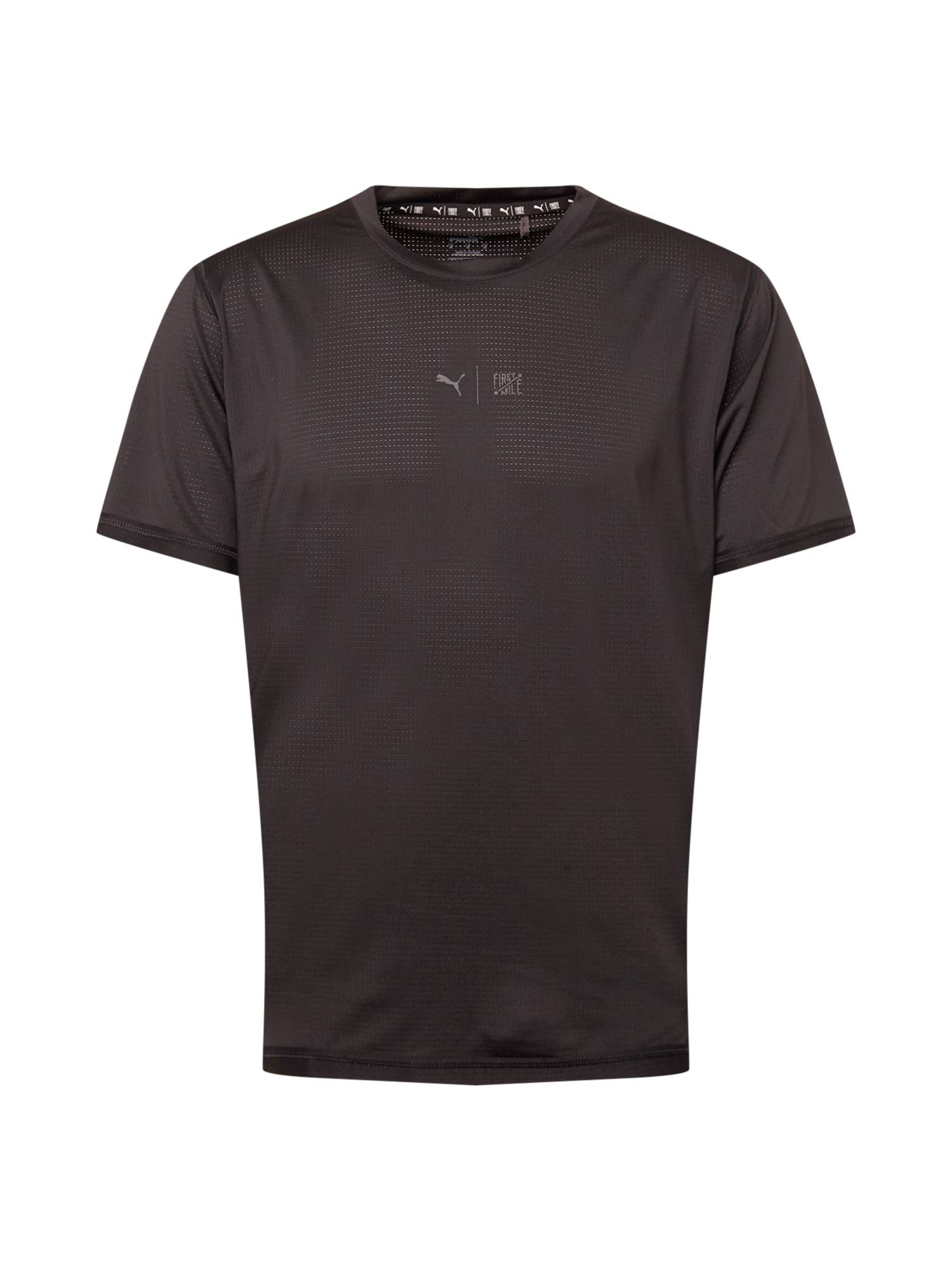 PUMA T-Shirt fonctionnel 'TRAIN FIRST MILE'  - Noir - Taille: S - male