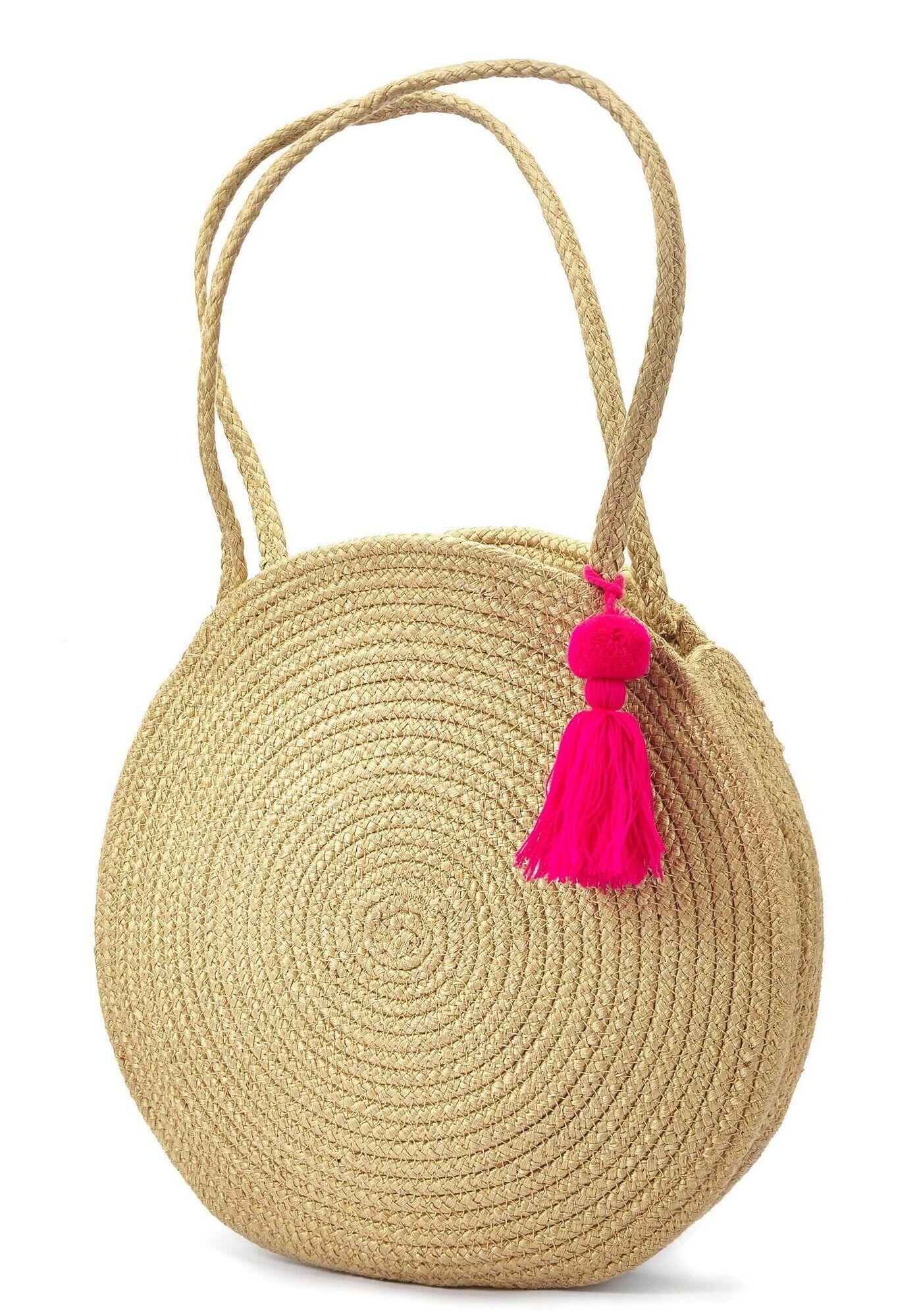 LASCANA Sac de plage  - Beige - Taille: One Size - female