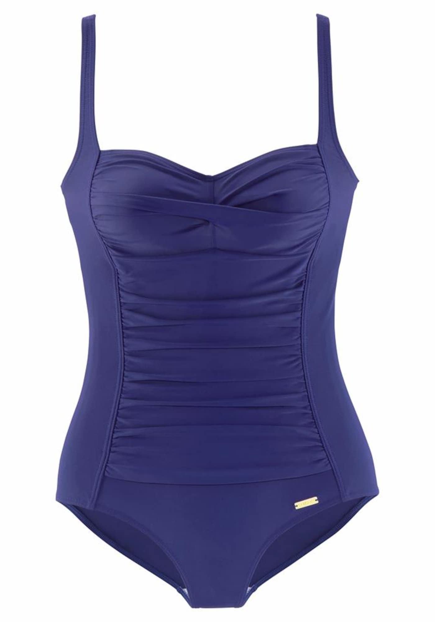 LASCANA Maillot de bain  - Bleu - Taille: 42 - female