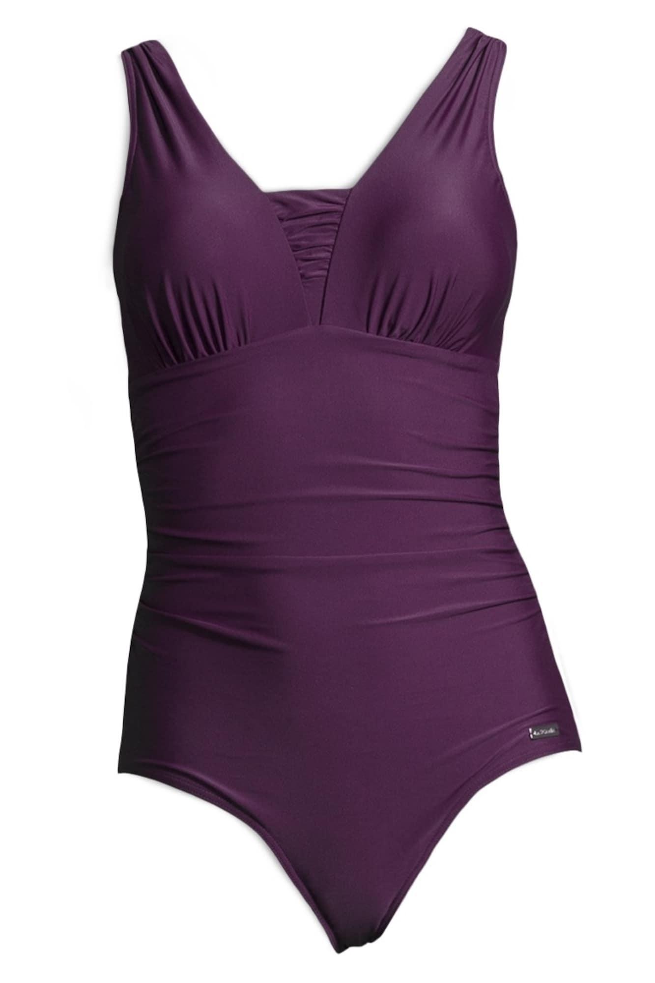 LASCANA Maillot de bain modelant 'Dagmar'  - Violet - Taille: 48 - female