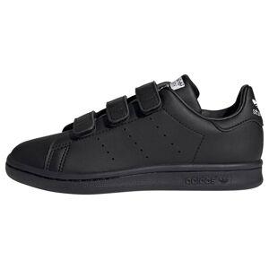 ADIDAS ORIGINALS Baskets 'Stan Smith Schuh'  - Noir - Taille: 13k - boy - Publicité