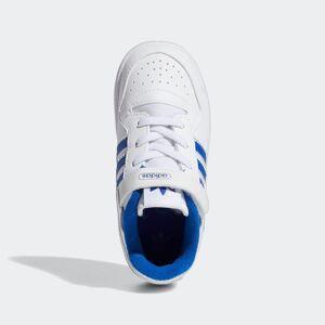 ADIDAS ORIGINALS Baskets 'Forum'  - Blanc - Taille: 5.5k - boy - Publicité