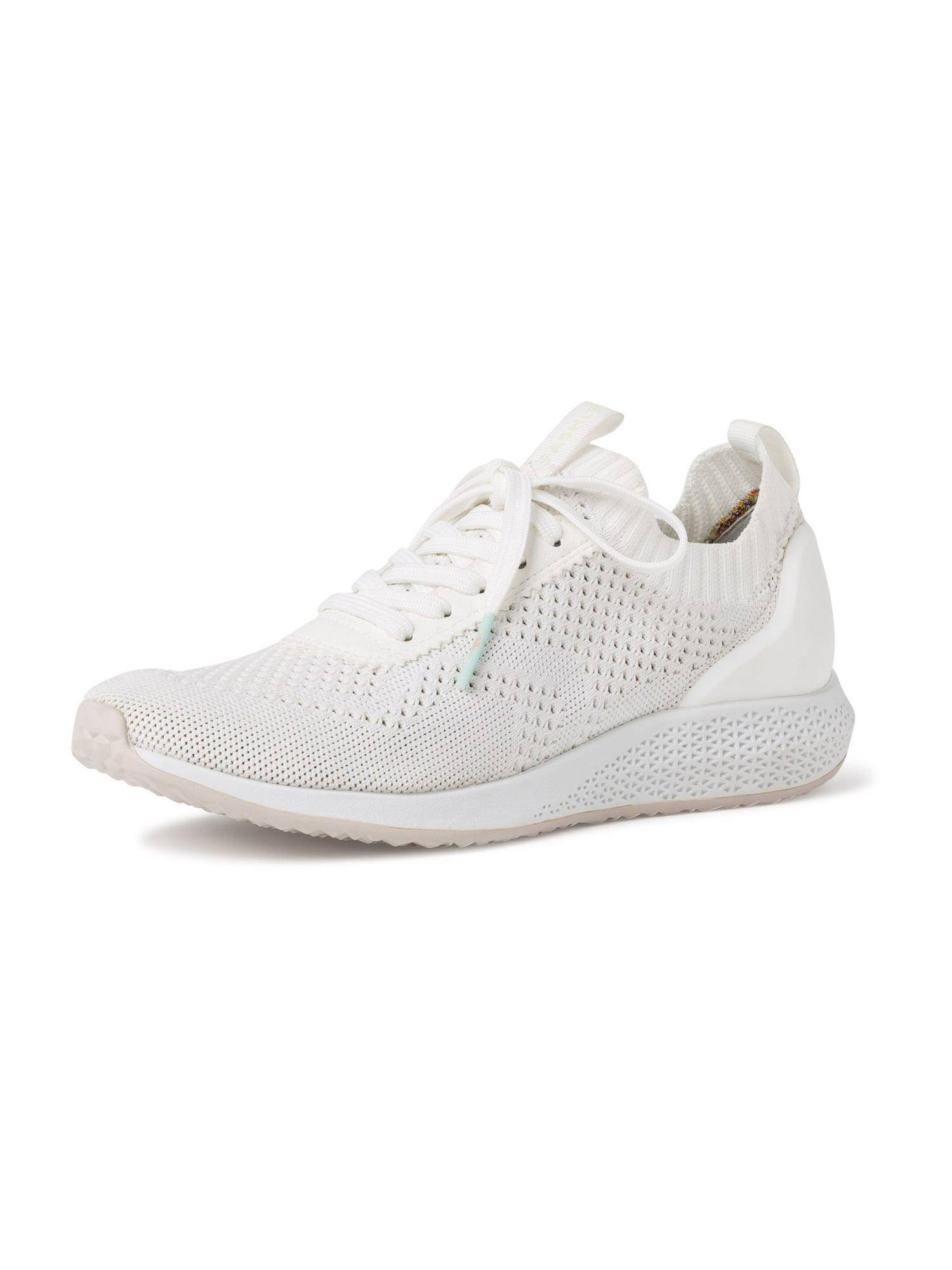 TAMARIS Baskets basses  - Blanc - Taille: 42 - female