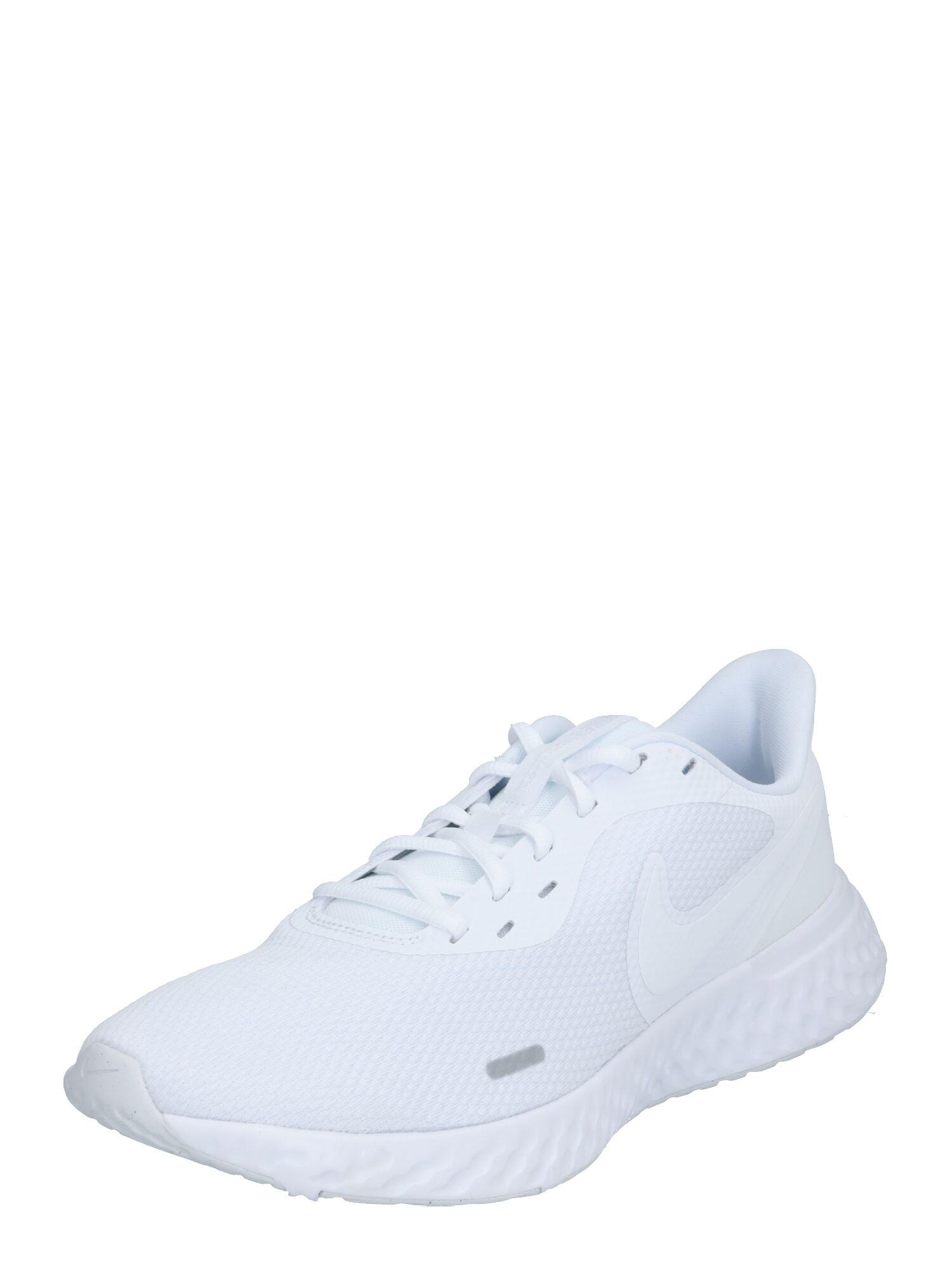 NIKE Chaussure de course 'Revolution 5'  - Blanc - Taille: 8.5 - male