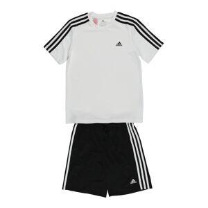 ADIDAS PERFORMANCE Survêtement  - Blanc, Noir - Taille: 140 - boy - Publicité