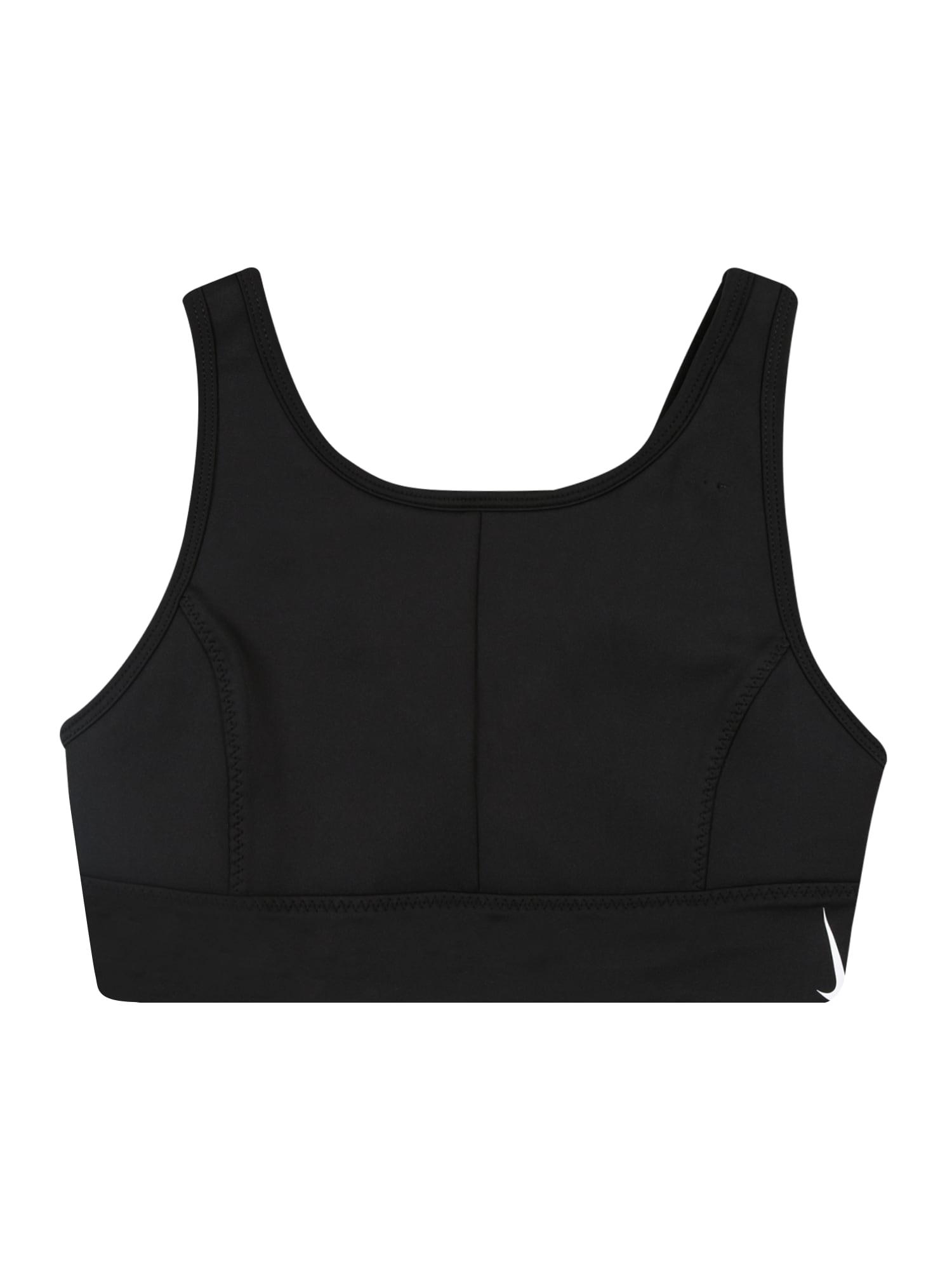 NIKE Sous-vêtements de sport 'Swoosh Luxe'  - Noir - Taille: M - girl