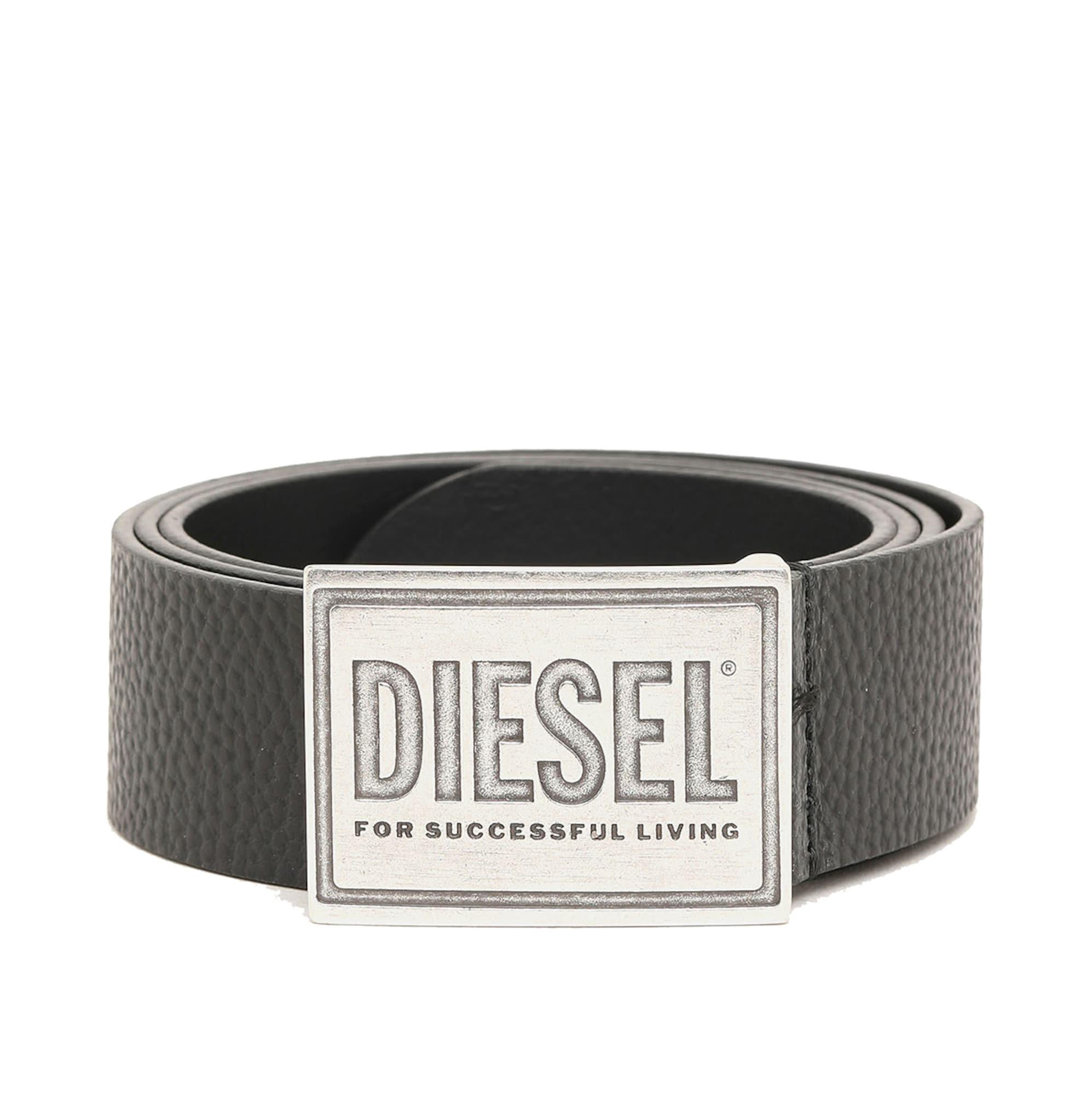 Diesel Ceinture 'B-GRAIN'  - Noir - Taille: 85 - male